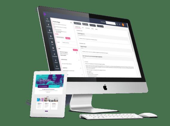 Recruitment website and recruitment CRM