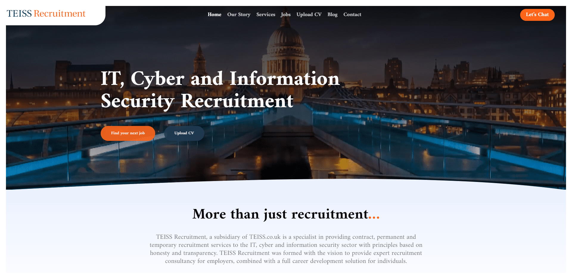 TEISS Recruitment
